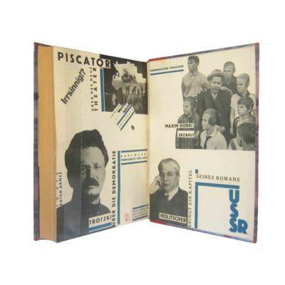 Pohl Bücherschau 1929 Handeinband Collage