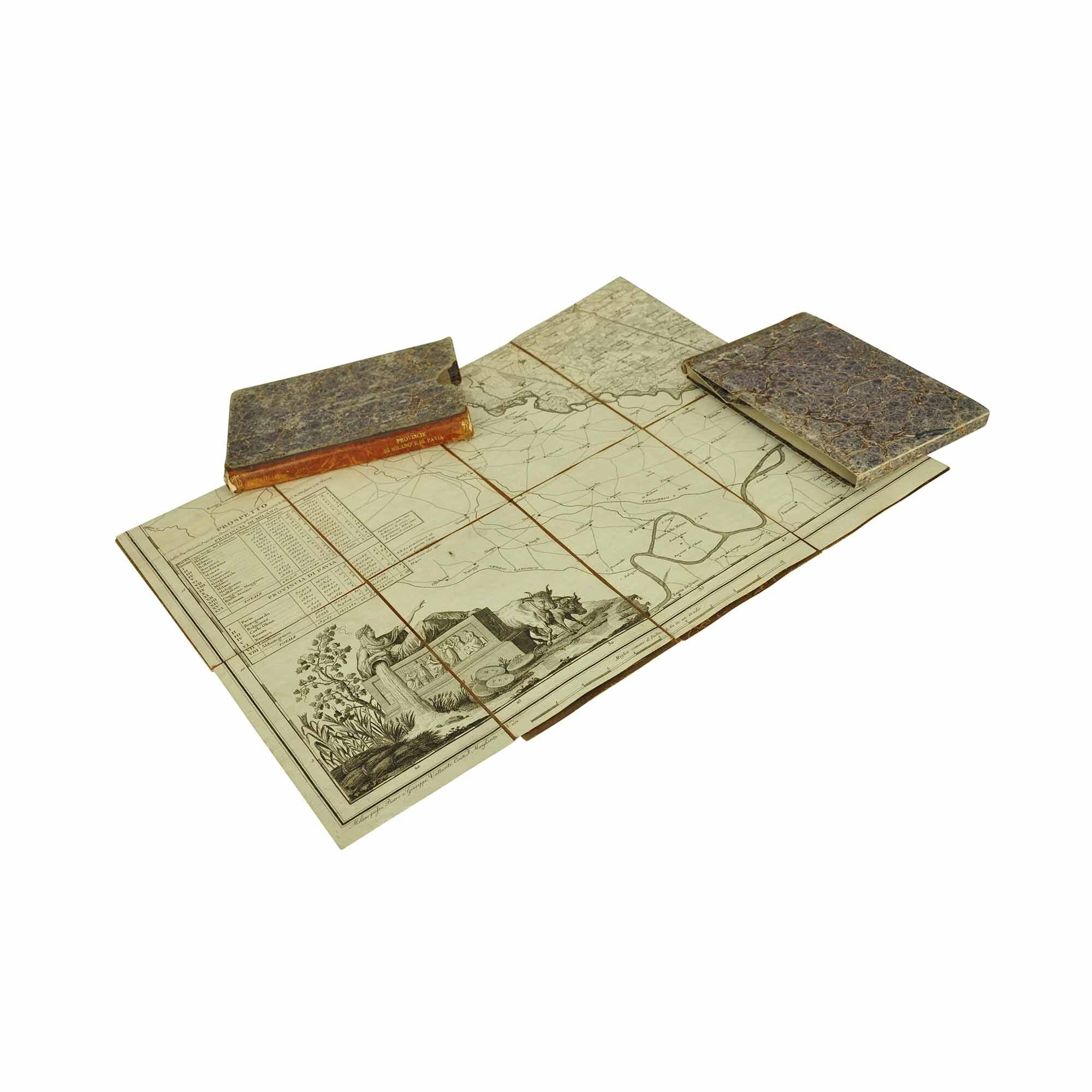 5488 Parea Carta Milano Pavia 1819 2 N