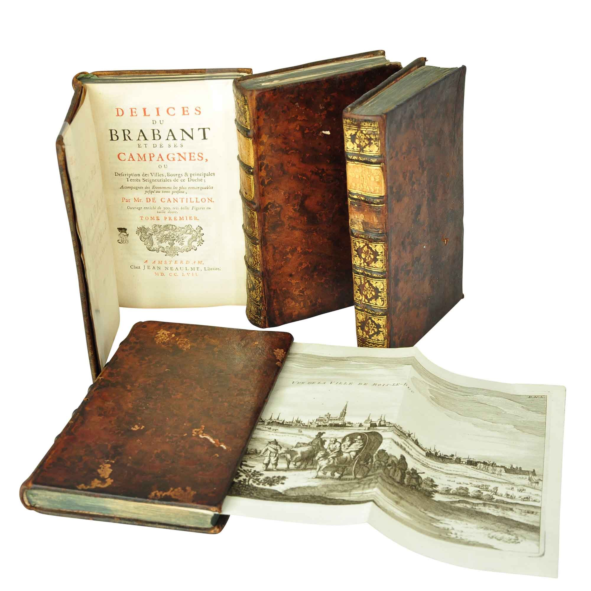 Cantillon Brabant 1757 Covers Title Plate A N