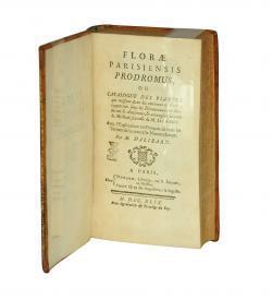 Dalibard Florae Parisiensis 1749 Title