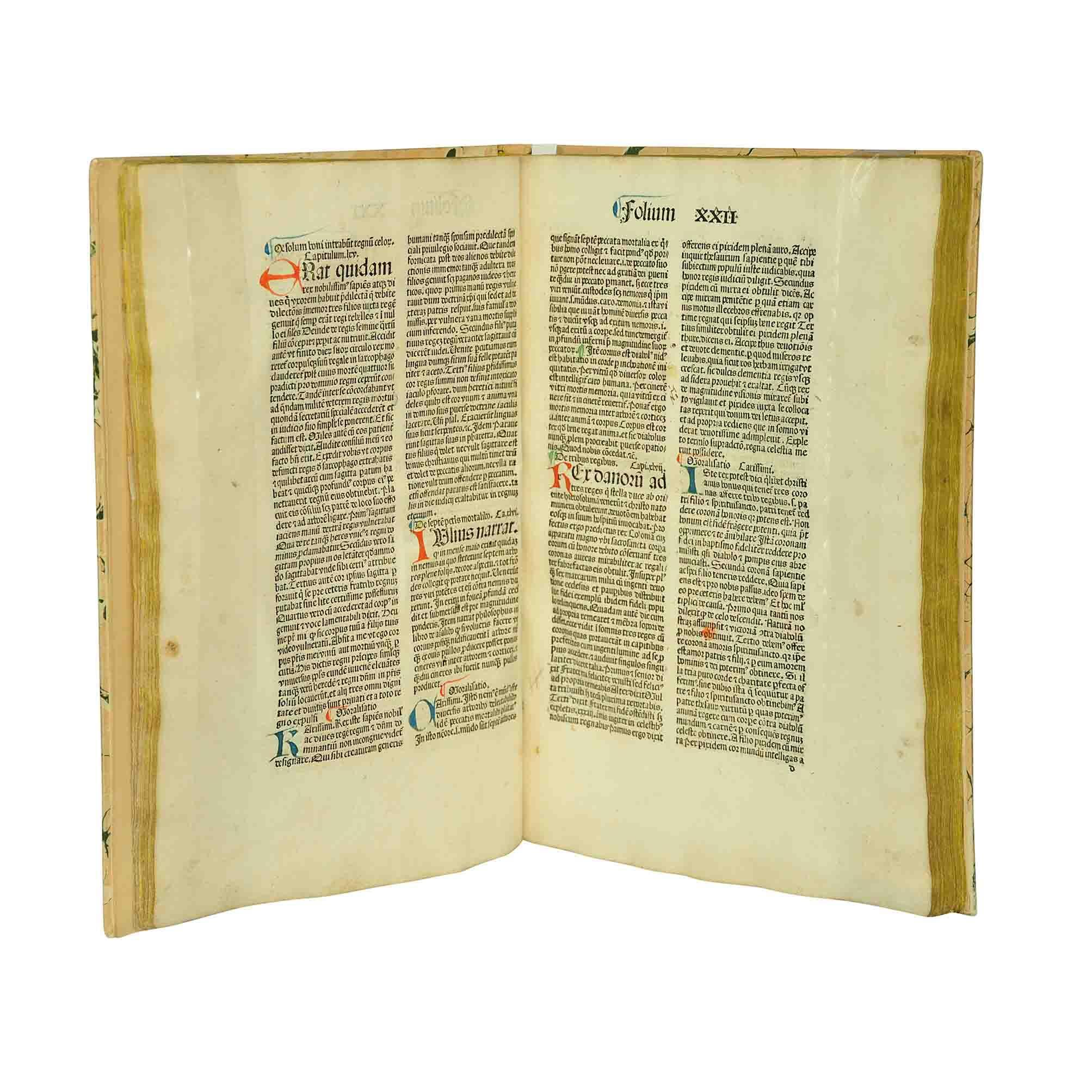 Gesta Romanorum 1488 open A N
