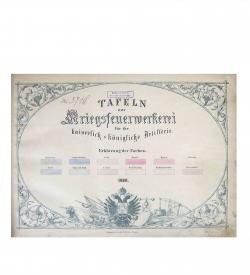 Tafeln Kriegsfeuerwerkerei 1868 Titel