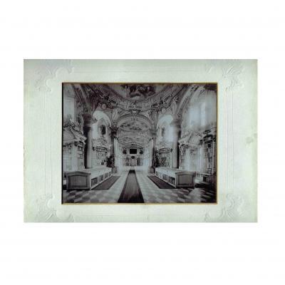 Stift Admont Bibliothek Lichtdruck 1897