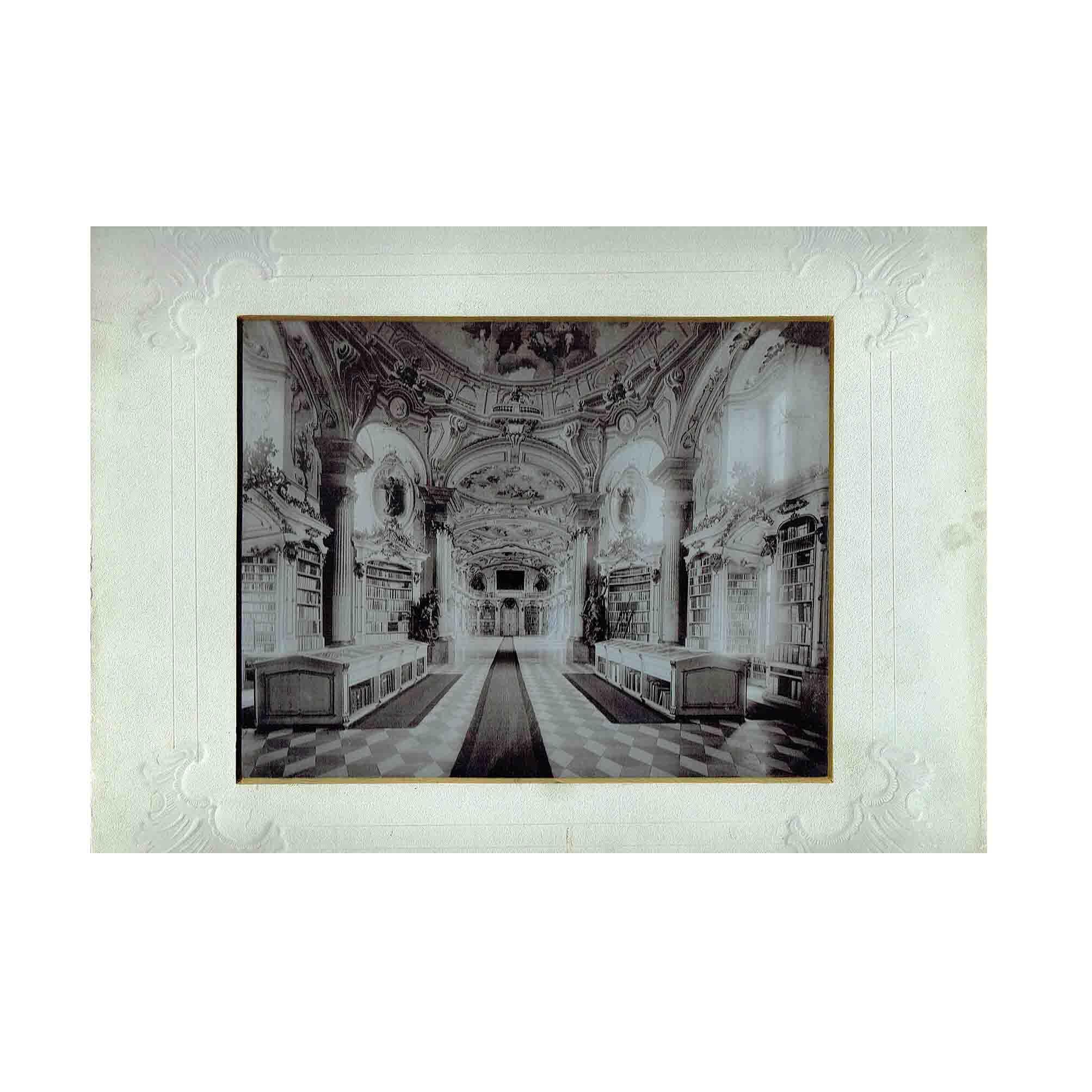 5505 Stift Admont Bibliothek Lichtdruck 1897 N