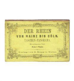 Rhein Mainz Cöln 1867 Einband