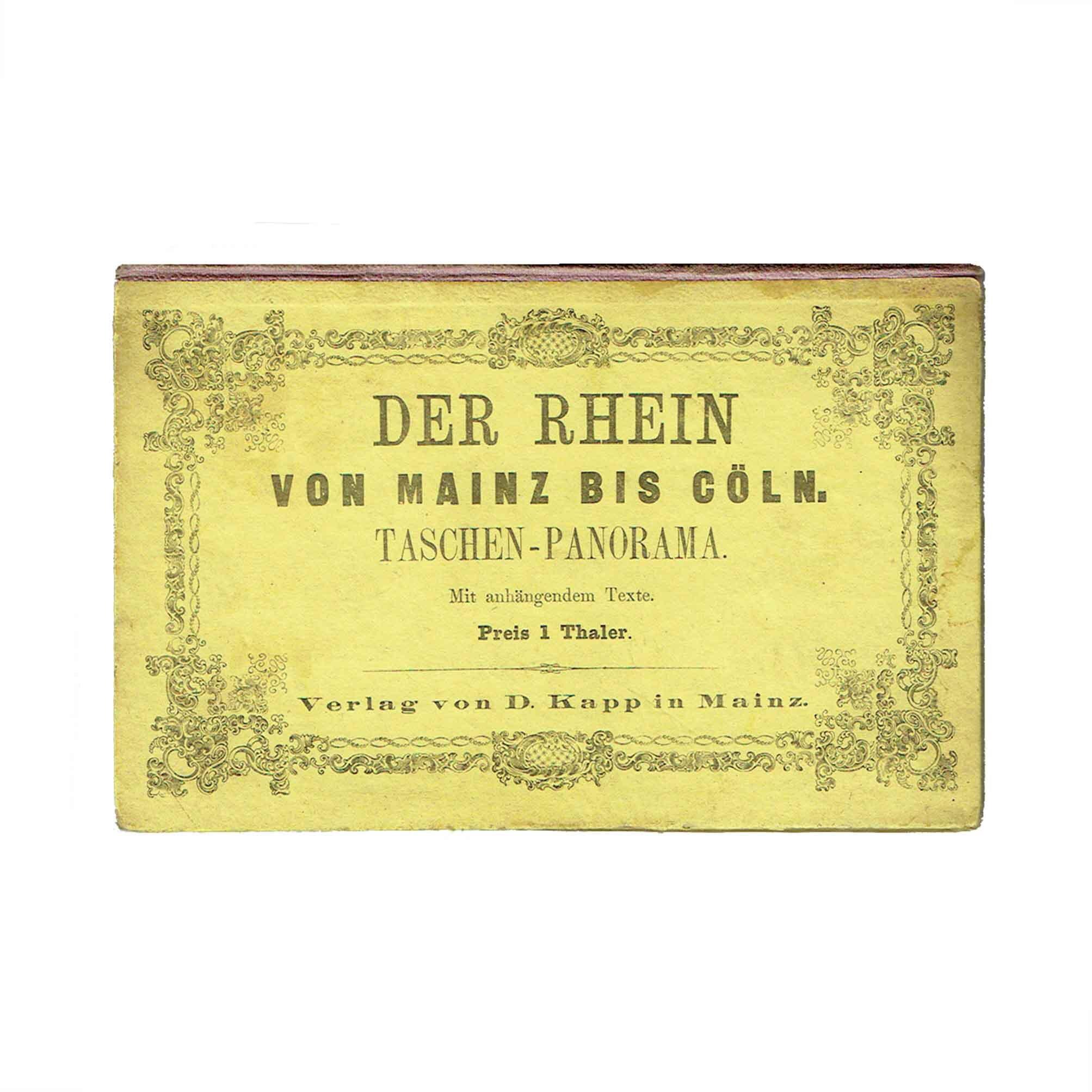 5513 Rhein Mainz Cöln 1867 Einband frei N
