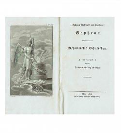 Herder Sophron Zensur 1813 Frontispiz Titel