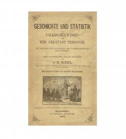 Hetzel Volksschule Temesvar 1873 Umschlag