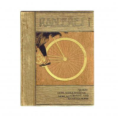 Radlerei Wien Jugendstil 1897 Einband Julius Franke