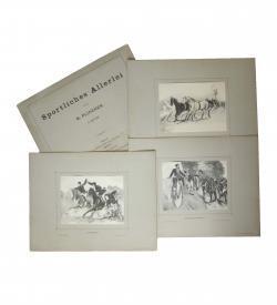 Plinzner Sport Pferd 1891 Titel Tafeln