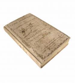 Marton Nemet Grammatika 1810 Einband Lithografie
