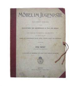 Graef Möbel Jugendstil 1904 Map