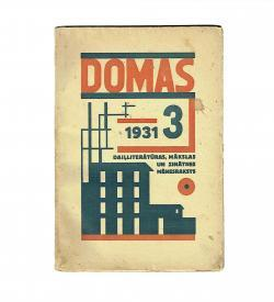 Domas Strunke VIII 3 1931 Cover