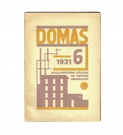 Domas Strunke VIII 6 1931 Cover