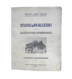Ciortan Studii Realizari Romanian Architectur 1940 Cover