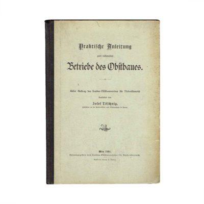Lösching Anleitung Obstbau 1901 Einband