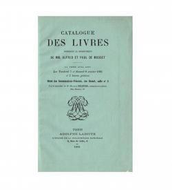 Musset Labitte Catalogue Livres 1881 Front wrapper