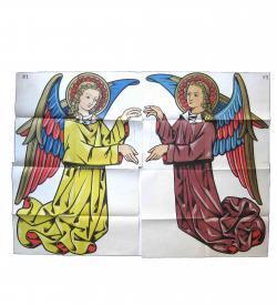 Farcy Decorations Religieuses 1877 1879 Chromolitho Angels