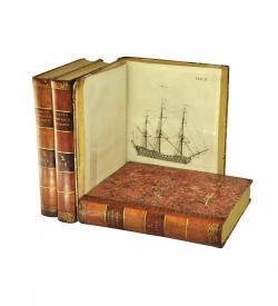 Roeding Woerterbuch Marine 1794 1798 Covers Ship