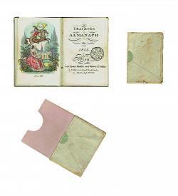 Trachten Almanach Wien 1844 Schuber Titelei