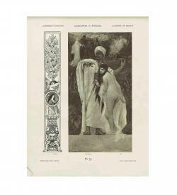 Gerlach Mappe Allegorien 1882 Klimt
