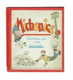 Nahlicek Michanice 1935 Einband