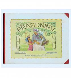 Cerna Prazdniny 1933 Einband