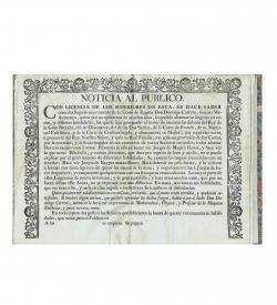 Carreto Noticia Poster White Magic 1700