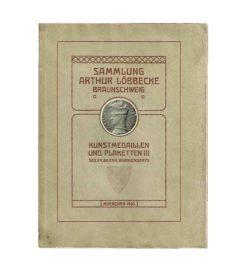 Löbbecke Medaillen Plaketten Auktion 1908 Umschlag
