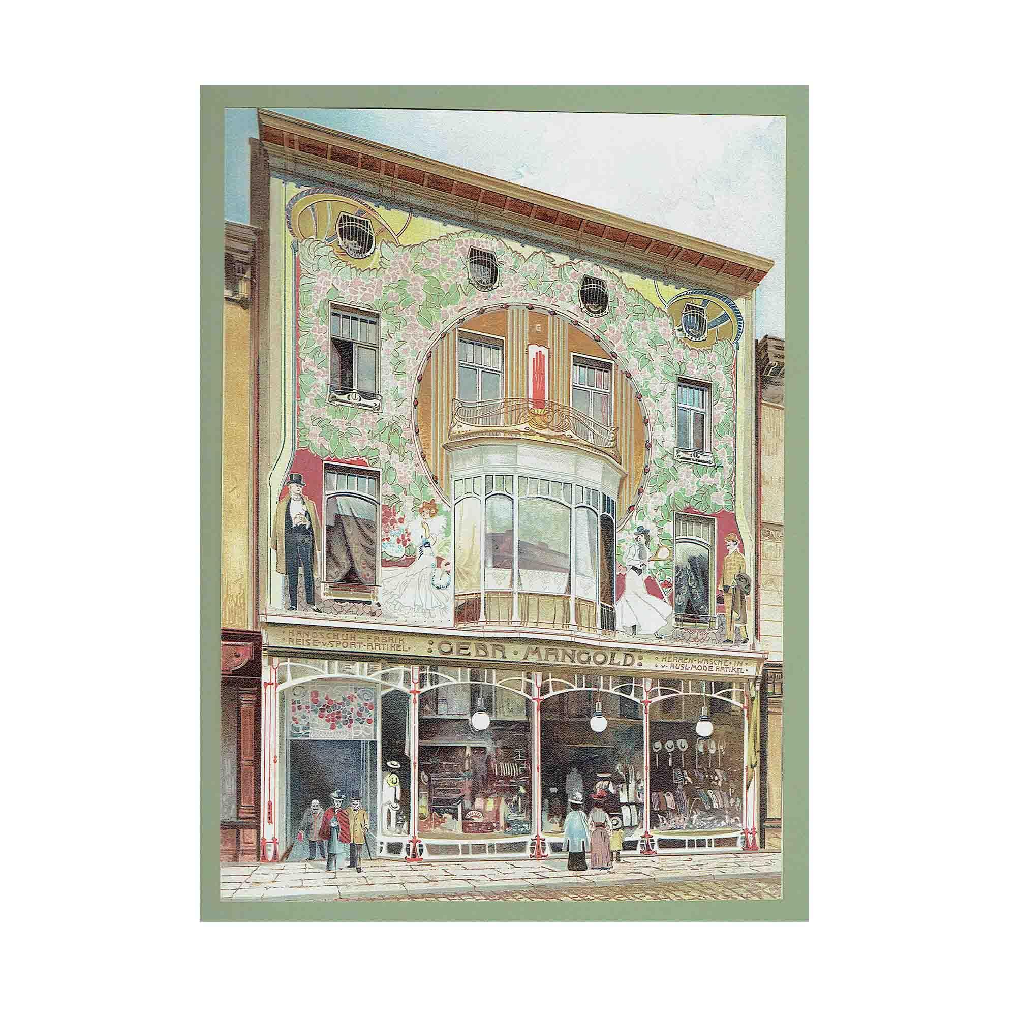 5571 Grüner Wohnhäuser 1905 N