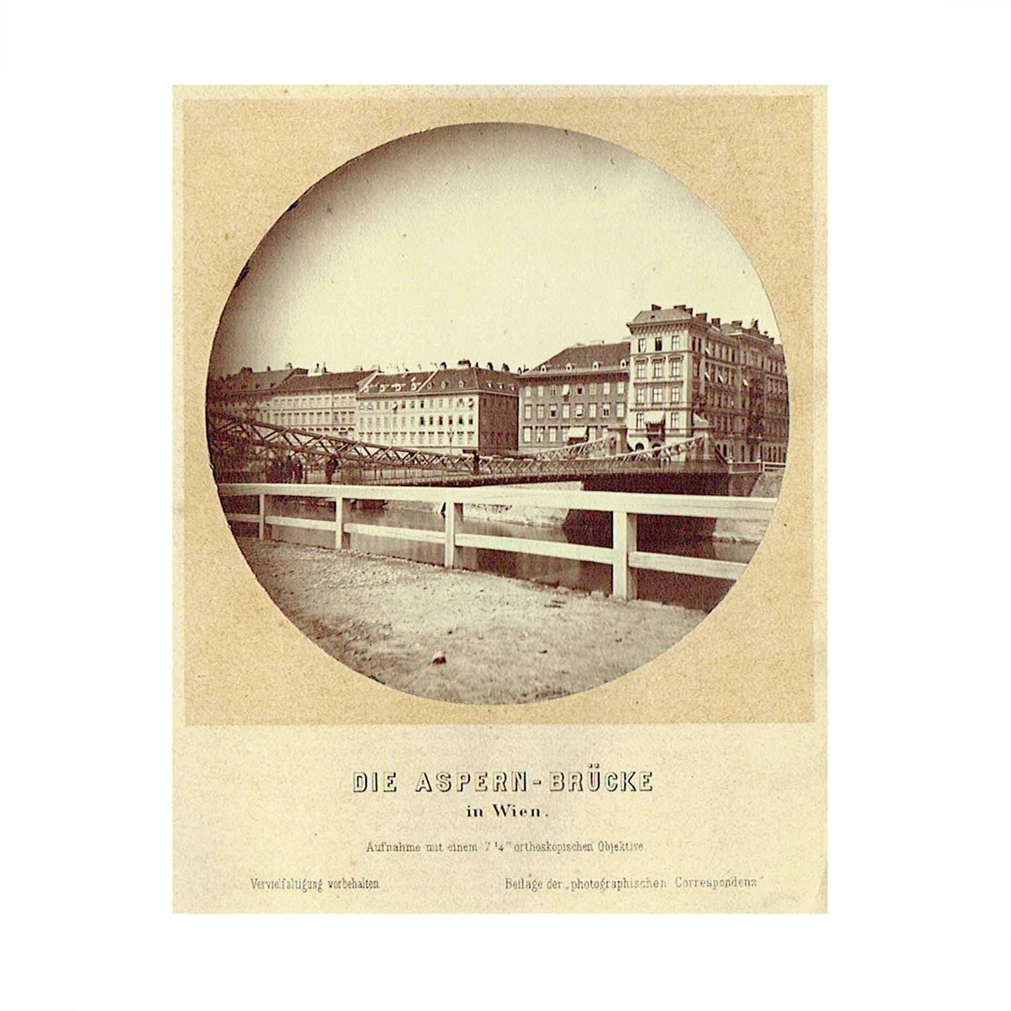 5573 Photographische Correspondenz Wien Bruecke 1865 N