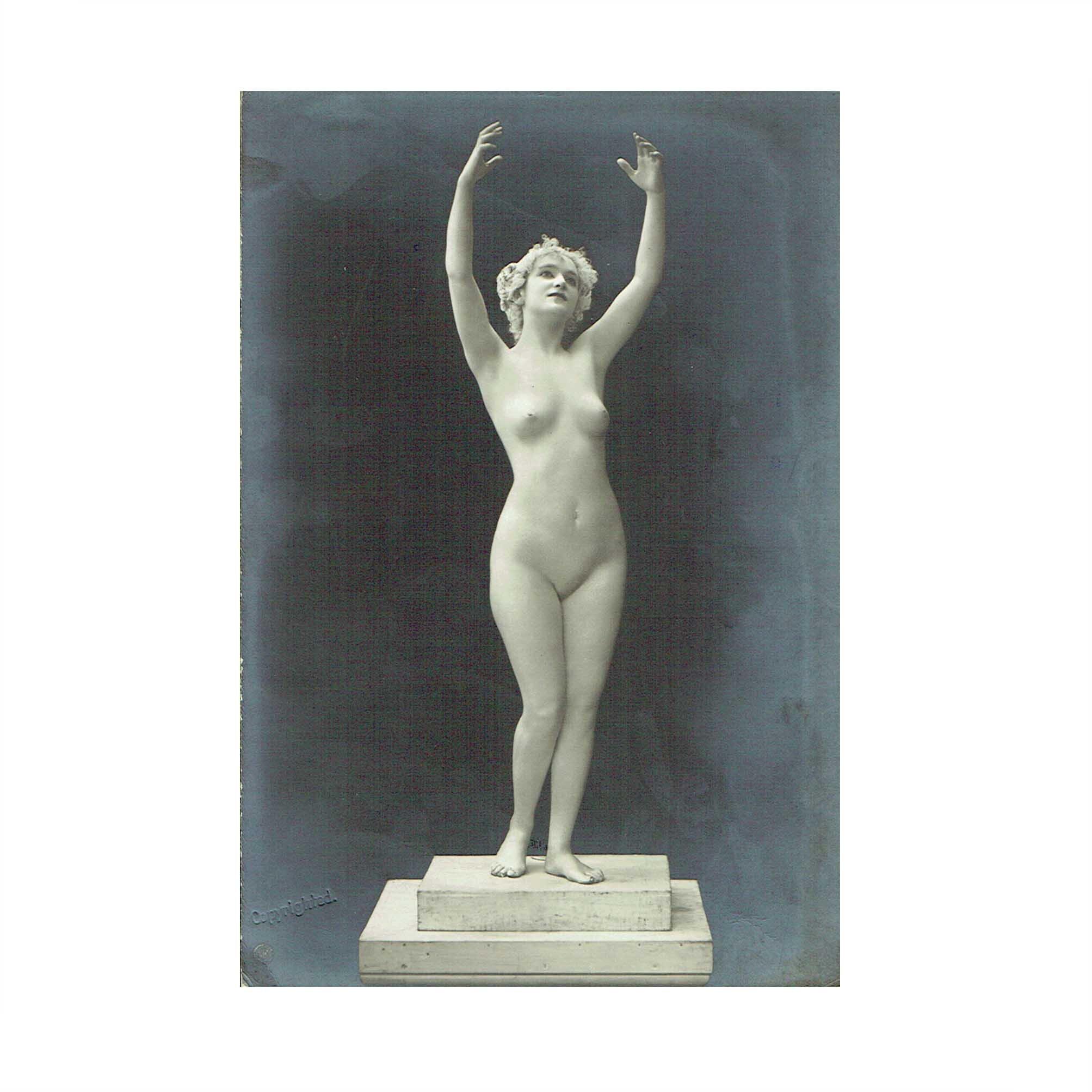 5600 Skowranek Desmond Marmor-Bildwerke Gebet 1909 N