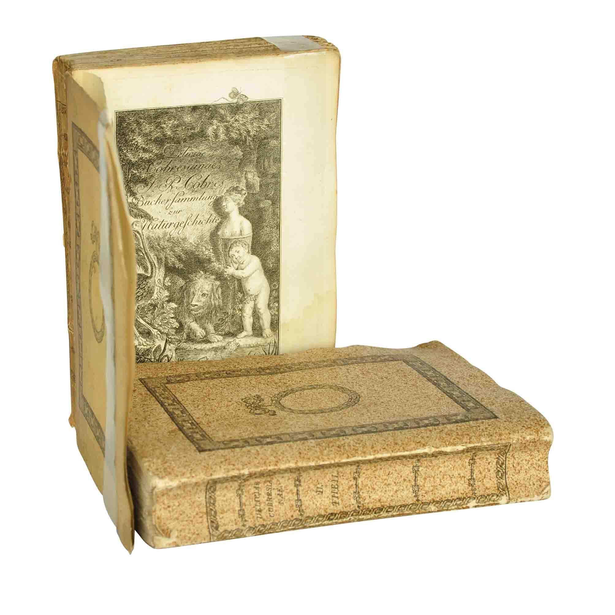Cobres Deliciae Cobresianae 1782 Cover Title A N