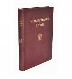 Hoffmeister Schriftgiesserei Musterblaetter 1905 Einband frei A