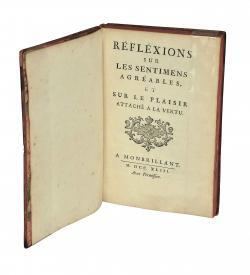 Levesque Gauffecourt Reflexions 1743 title