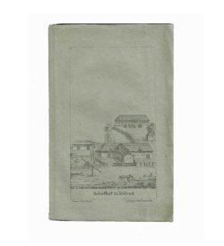 Bartossagh Schafe 1827 Umschlag Lithografie Kölesd
