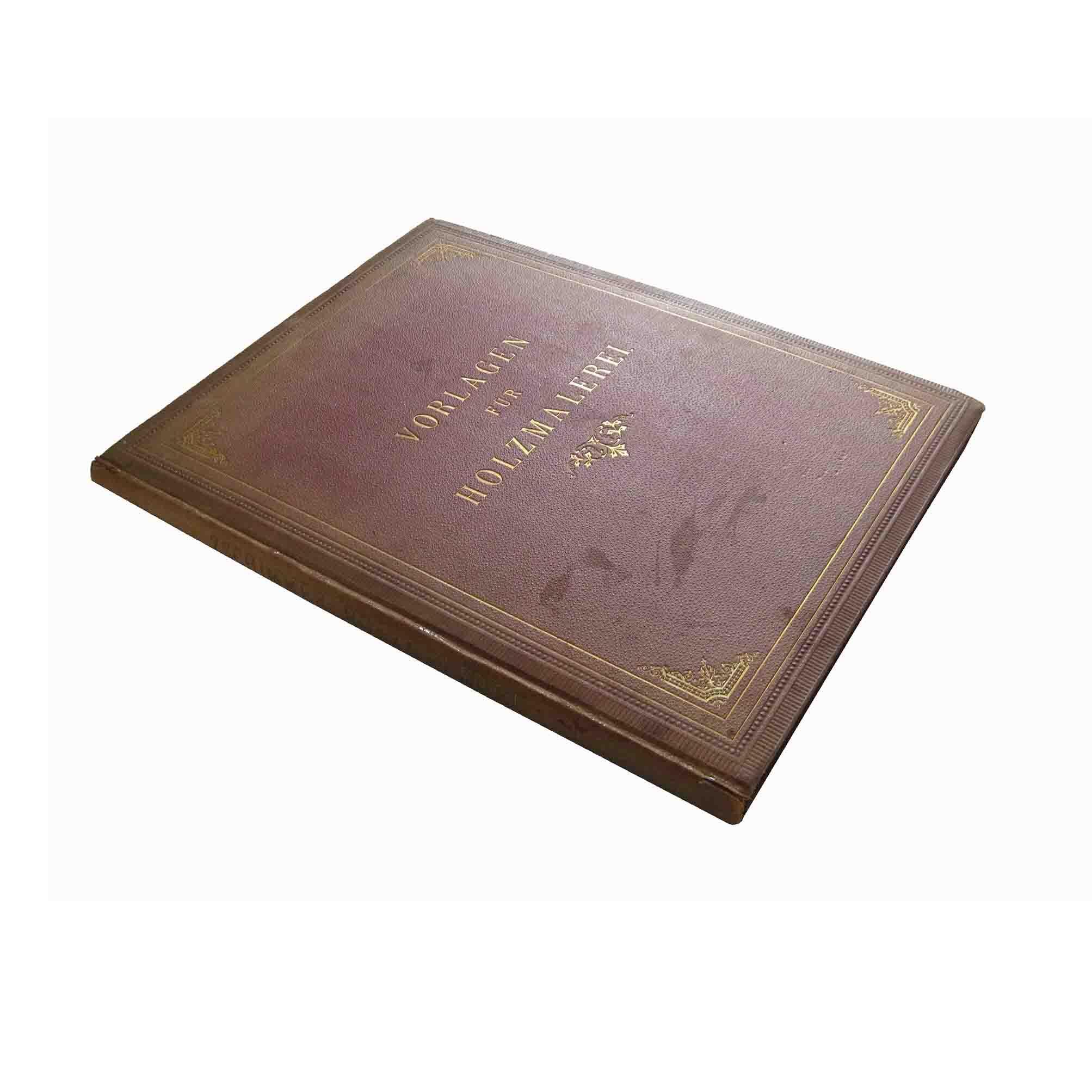5642 Zschimmer Holzmalerei 1876 Einband 1 frei N