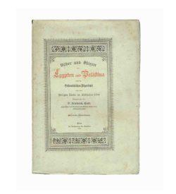 Endl Palästina 1894 Umschlag