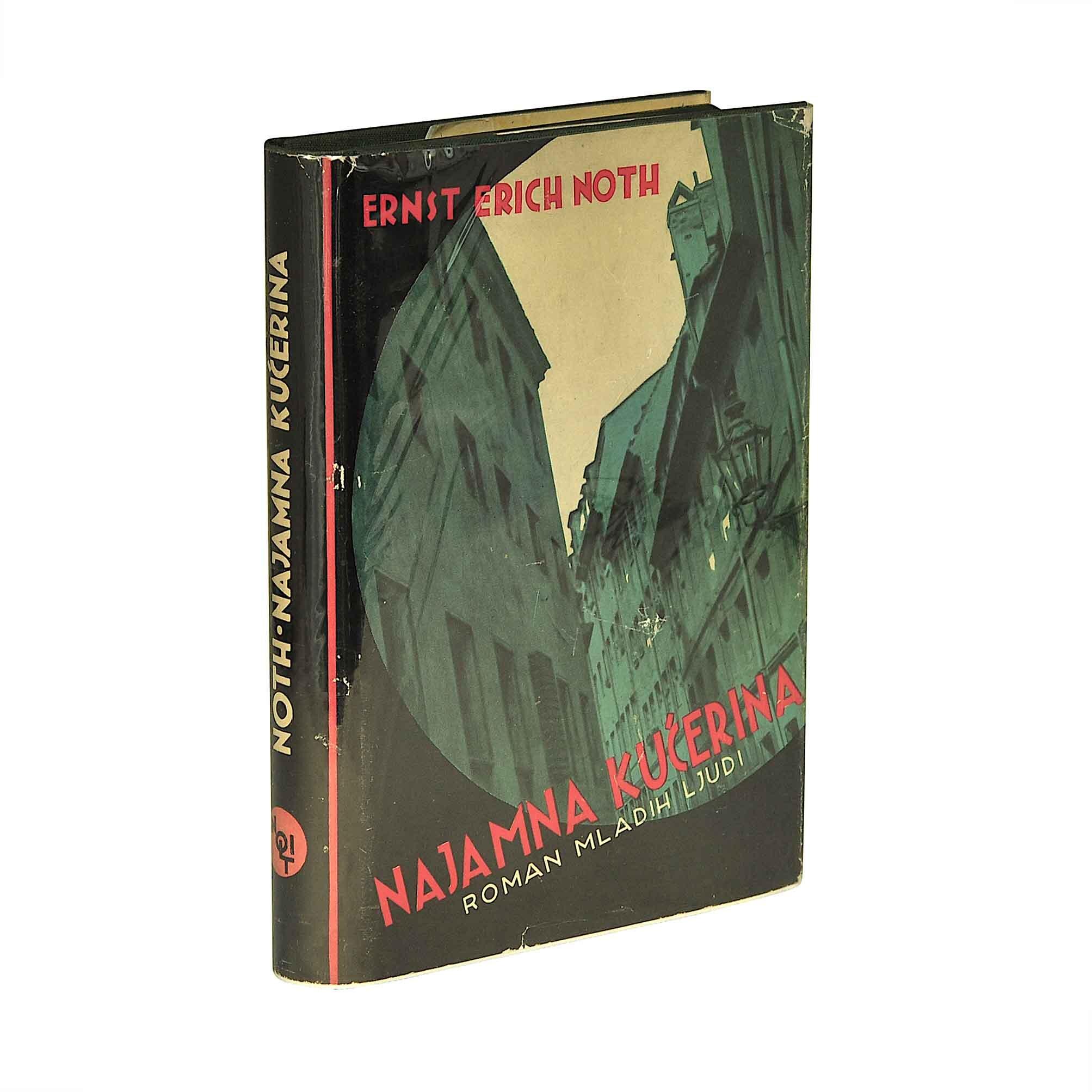 5653 Noth Bihaly Najamna Kucerina Nolit 1933 Umschlag recto Rücken A N