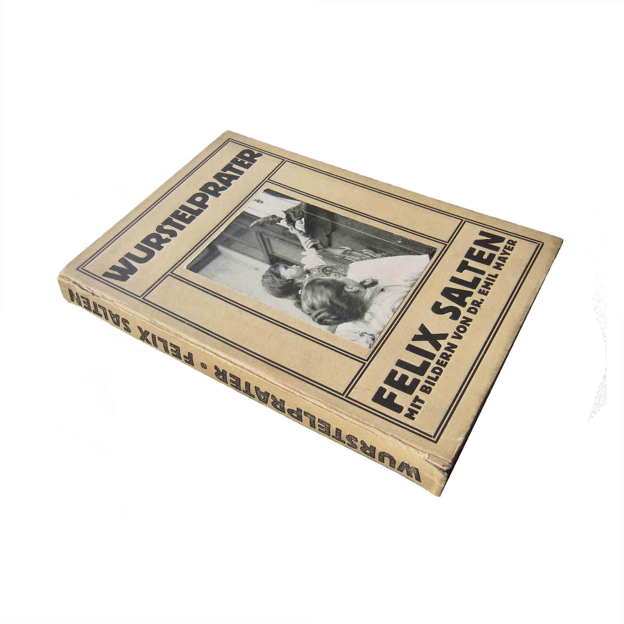 5657 Salten Mayer Wurstelprater 1911 Einband Foto recto frei N
