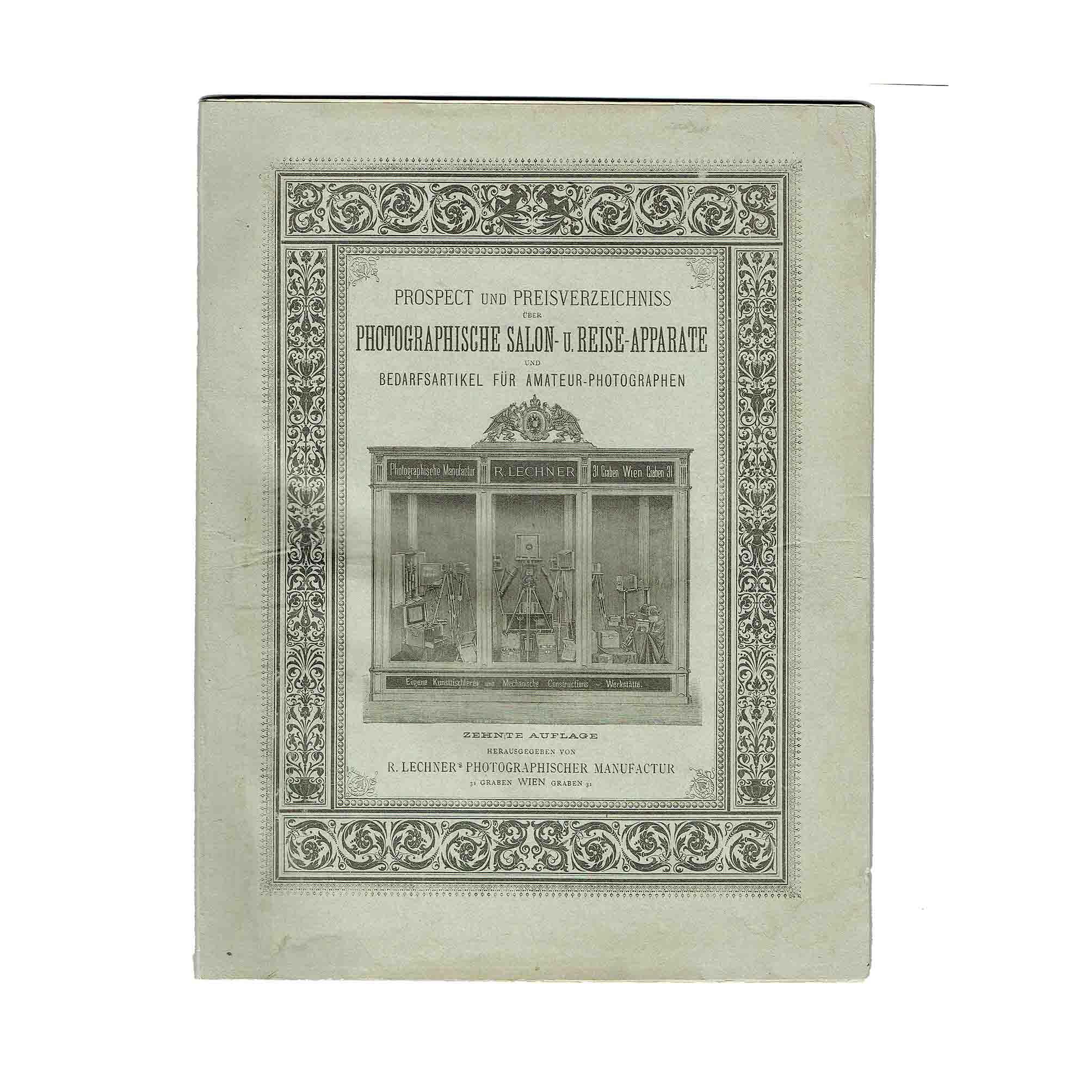 5660 Prospekt Foto Lechner 1889 Umschlag frei N