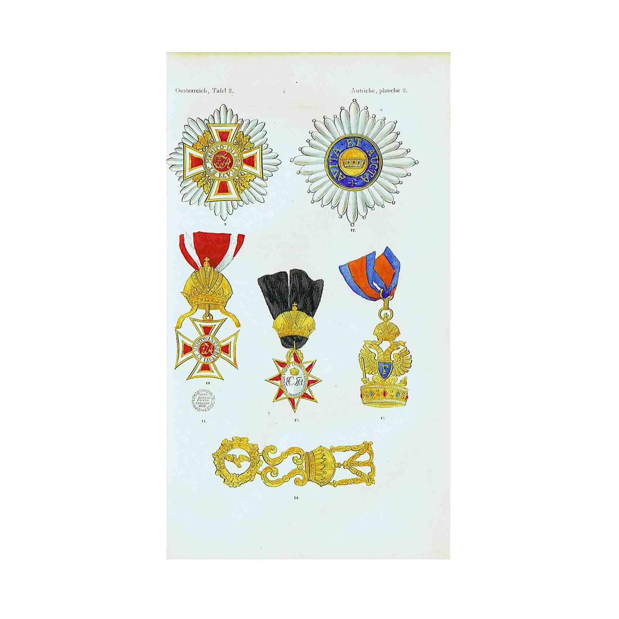 Murquardt Ritterorden 1848 Orden N