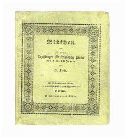 Chromolithografierte Kindererzählungen, im lithografischen Verlagseinband, 1853