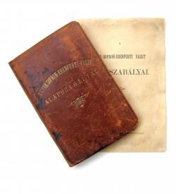 Wohl unikales Konvolut zur Eisenbahngeschichte des Burgenlands und Westungarns, 1872-1913