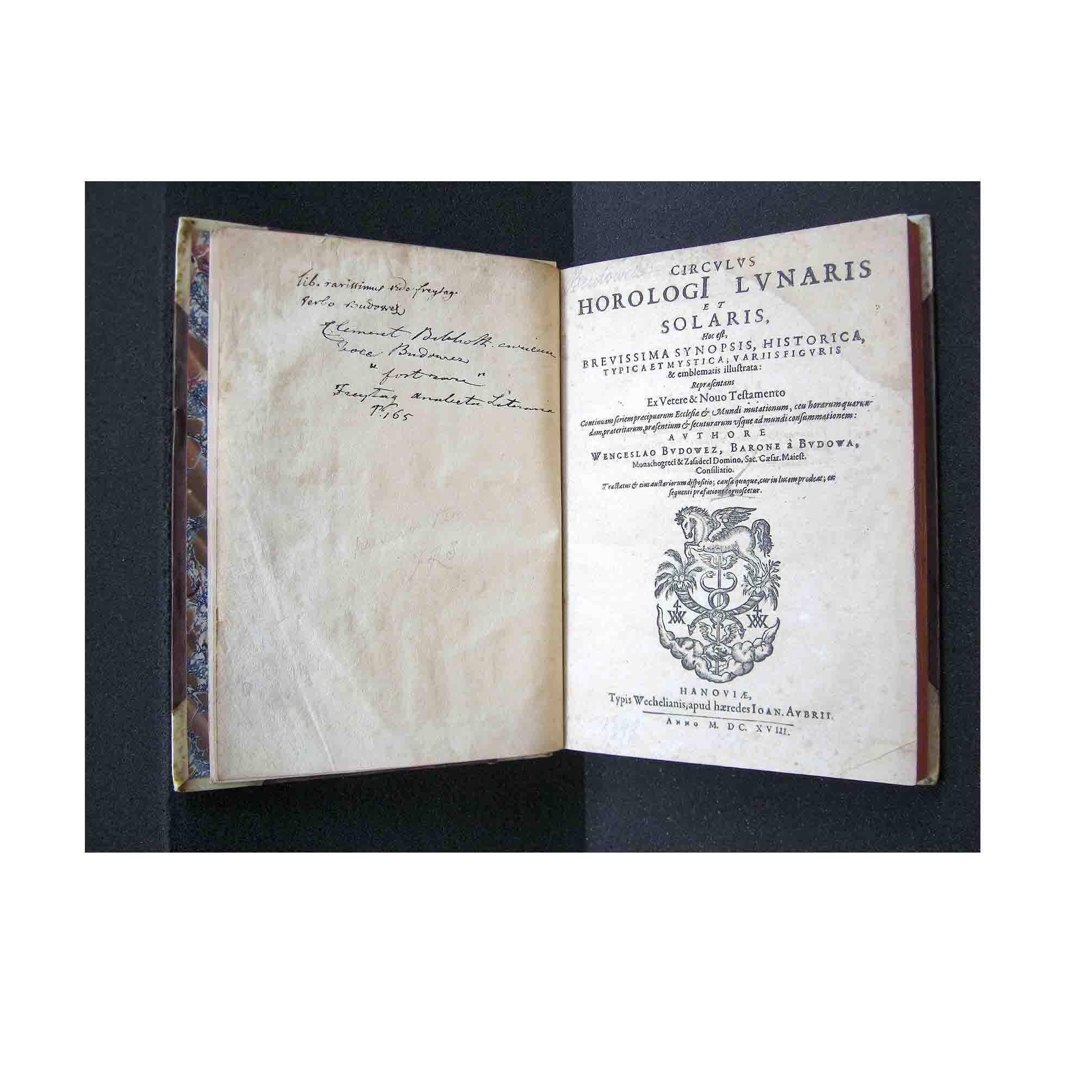 5701 Budowetz Circulus Horologi Lunaris Solaris 1616 Title N
