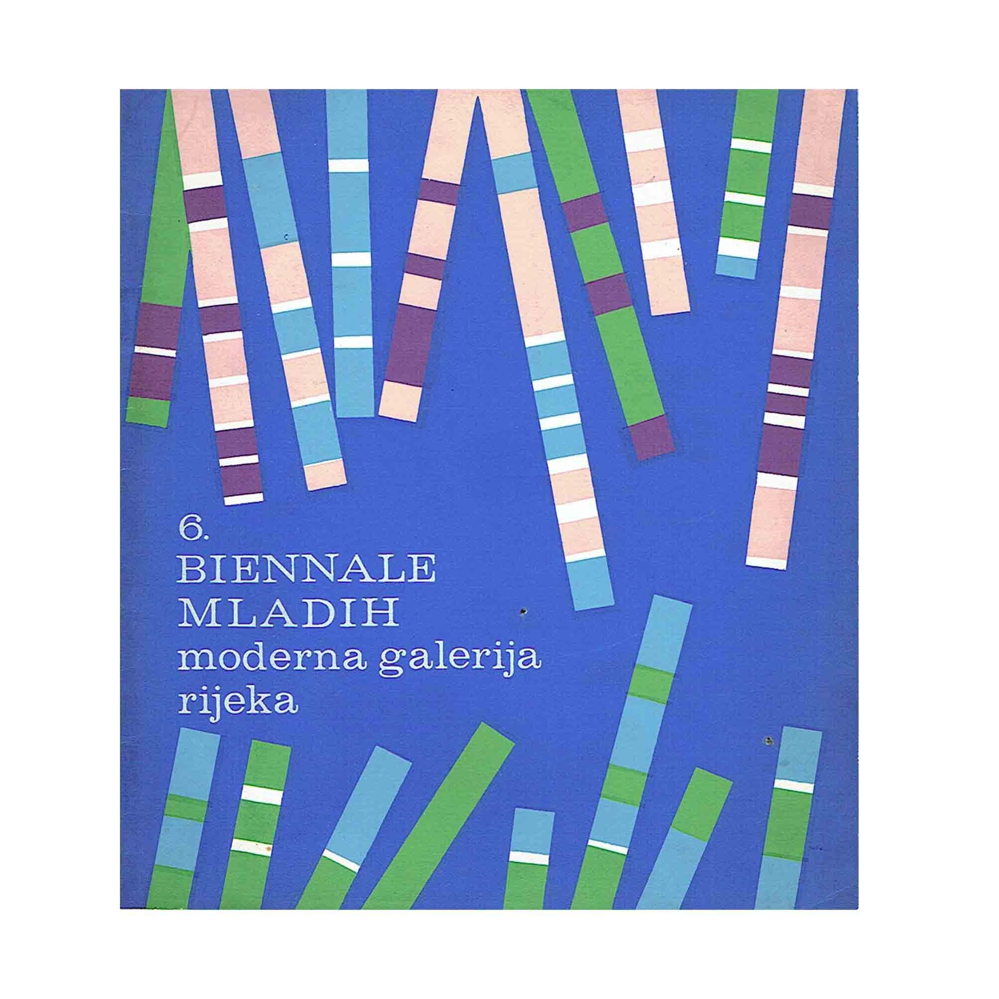 5710 Biennale Mladih Abramovic 1971 Cover N