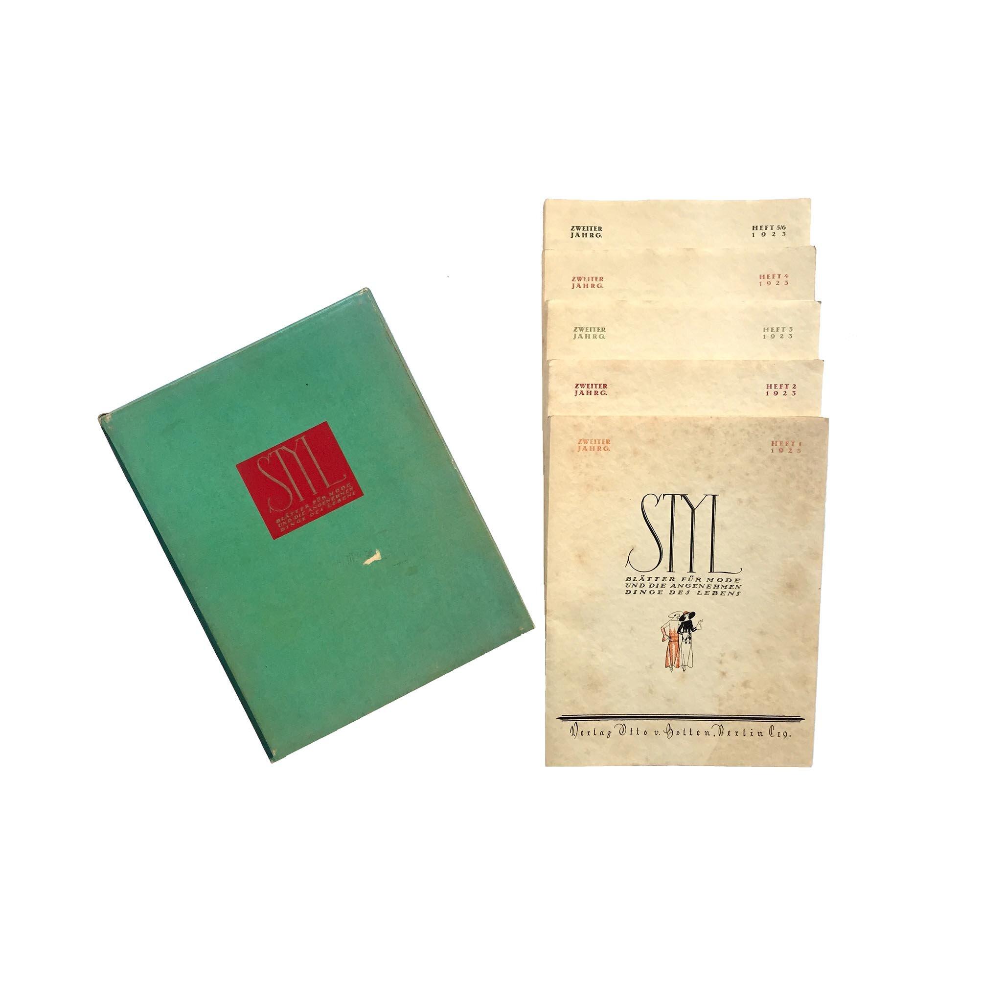 5787 Styl II 1924 Clamshell Covers free N