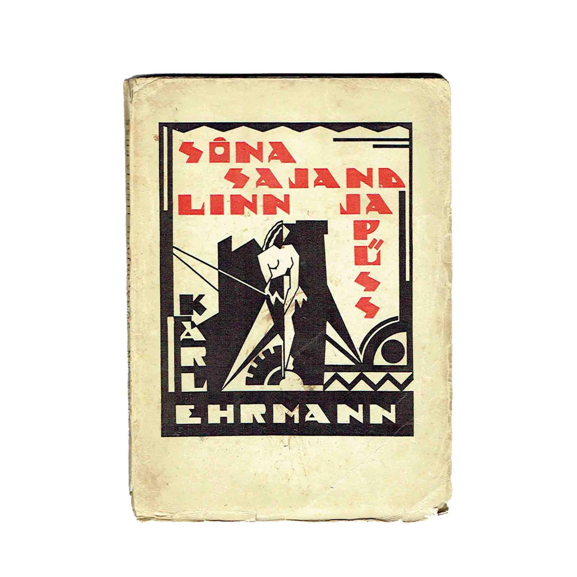 5829K Ehrmann Jaaska Sona1927 Umschlag recto frei N