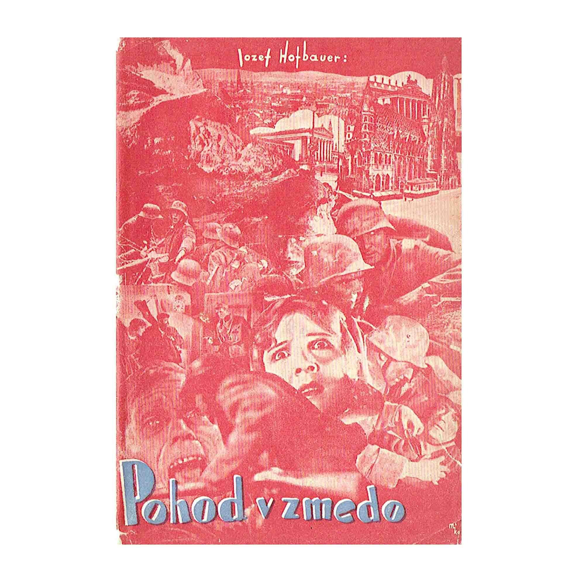 3017 Hofbauer Pohod Marsch Slowenisch Svigelj Mico 1935 Umschlag AA N