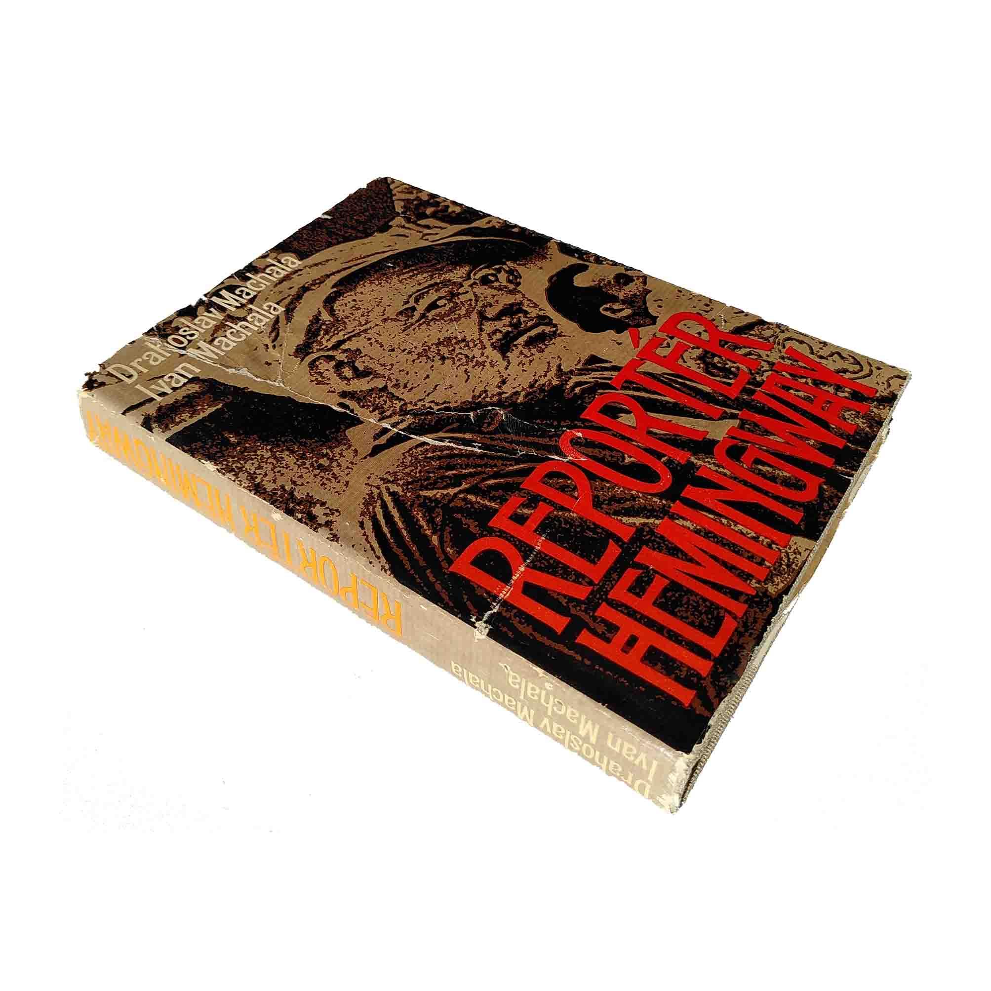 5912 Hemingway Machala Biography Slovak 1980 Dust Jacket free N